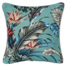 Outdoor cushion in tropical paradise lagoon (various sizes available)