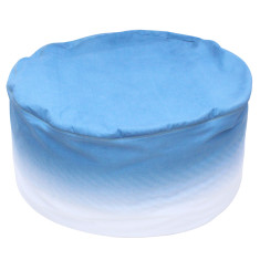 Beanbag cover in gradient fabric (various colours available)