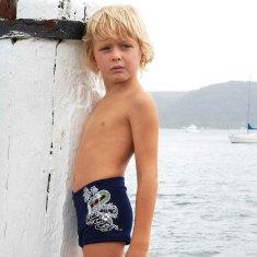 Boys Rainbow Surf Swim Short