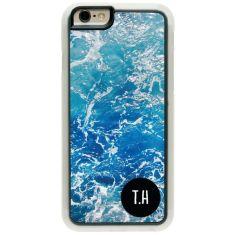 Personalised iPhone cover - Deep Ocean