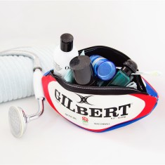 Licensed England Rugby Ball Wash Bag