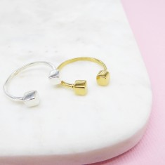Cube Ring  (various colours)
