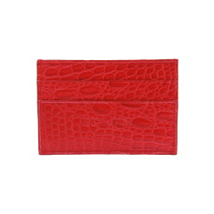 Handmade luxury leather card holder