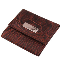 Luxury leather ladies mini-wallet