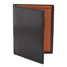 Men's luxury leather mini-wallet