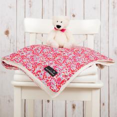 Liberty print wiltshire baby blanket