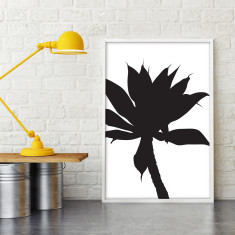 Silhouetted large format art print