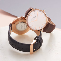 Ladies' Rose Gold Personalised Watch