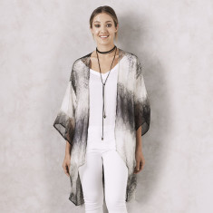 Abstract Print Cape