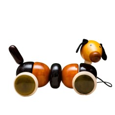 Bovow wooden pull-along toy