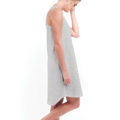 Singlet Dress in Grey Marle