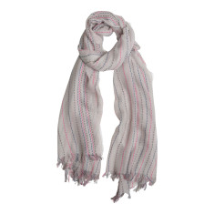 Weekend stripe scarf