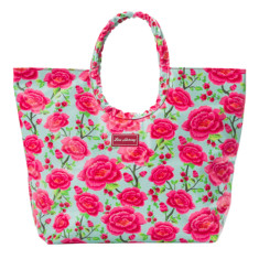 Everyday tote bag in Alexandra sage print