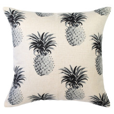 Mono Pineapples Natural Cushion (various sizes)