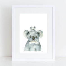 Peekaboo Koalas Limited Edition Fine Art Print