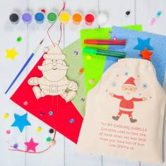 Make Your Own Jumping Jack Christmas Decoration