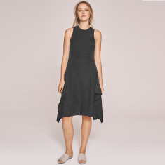 Wanderer Ribbed Jersey Dress