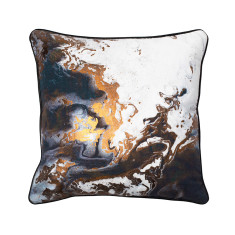 Copper Night cushion cover