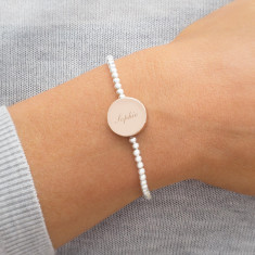 Lorianna Personalised Disc Bracelet