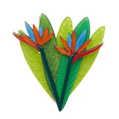 Erstwilder bird of paradise brooch