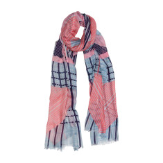 Retro way geometric luxe scarf