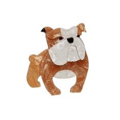 Erstwilder Boof the bulldog brooch