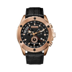 CAT Power Tech series watch in rose gold & black plus free gift