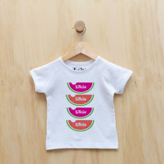 Personalised watermelon t-shirt