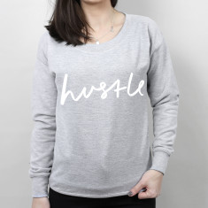 Hustle Women's Scoop Neck Sweater