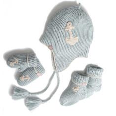 Blue Alpaca Baby Boy Gift Set