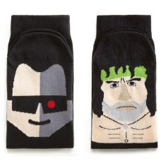 Adult ChattyFeet action-movie rebels socks (set of 2)