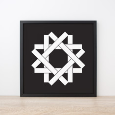 Yin Monochrome Limited Edition Art Print