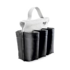 Donkey Products black & white six pack bike bag