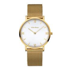 Ava - Gold Mesh Watch