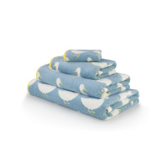Waddling Ducks Bath Towel Set