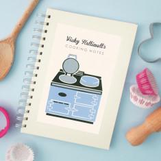 Personalised range cooker notebook