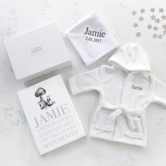 Personalised Baby Hamper Gift Set