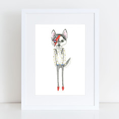 Bowie - Limited Edition Fine Art Print