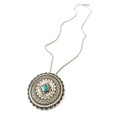Concho necklace or brooch