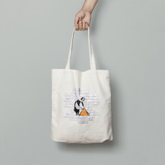 Banksy Maid Canvas Tote Bag