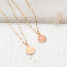 Limited Edition - Personalised Summer Druzy Gemstone Necklace