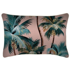 Outdoor Cushion Cover-Palm Trees Sunset (various sizes)
