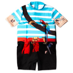 Pirate float suit - learn to swim suit