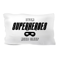 Superhero pillowcase