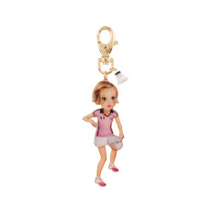 Stéphanie The Badminton Player Key Ring