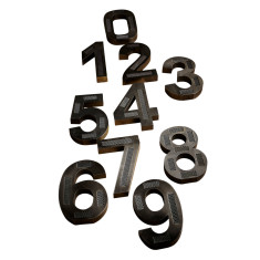 Pewter factory numbers