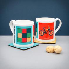 Personalised Rubix & BMX (Est 1980's) Mug