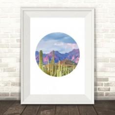 Cactus Heaven Print