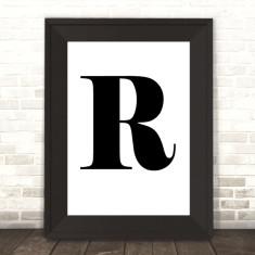 Personalised Monogram Initial Letter Print