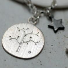 Family tree charm bracelet